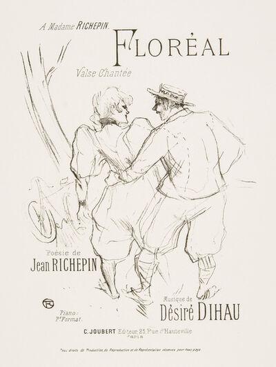 Henri de Toulouse-Lautrec, 'FLORÉAL (Springtime)', 1895-1896
