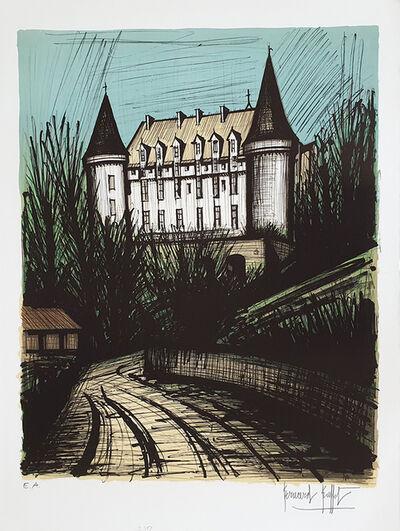 Bernard Buffet, 'Chateau de rochechouart', 1981