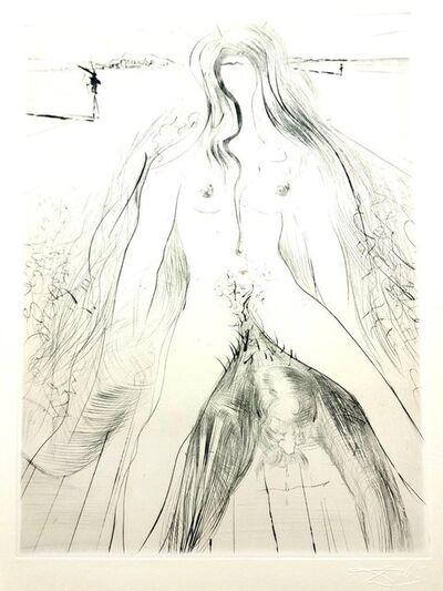 "Salvador Dalí, 'Original Etching ""Venus in Furs X"" by Salvador Dali', 1968"