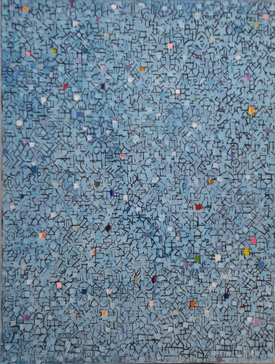 Jamil Molaeb, 'Blue City', 2020