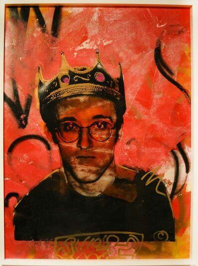 Skyler Grey, 'King Haring Orange', 2014