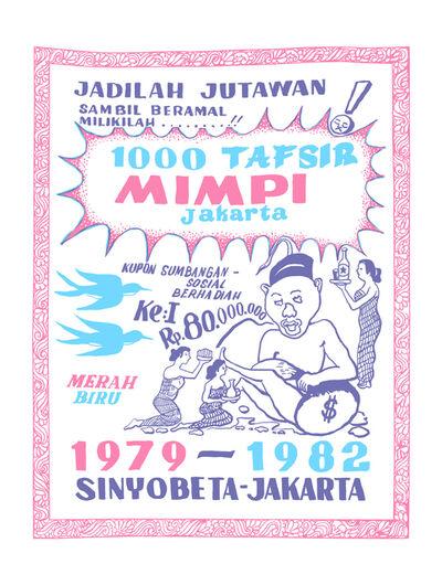 "Krack! Studio, '1000 Tafsir Mimpi, 1979 (from the series ""Tanah/Impian (Dream/Land)"")', 2014-2017"