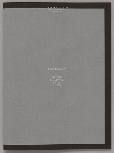 Paul Paillet, 'BRUME BOURGEON BRISE SOLEIL', 2020