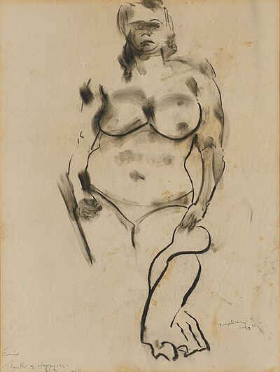 Michael Goldberg, 'Untitled (Sketch of a Woman)', 1965