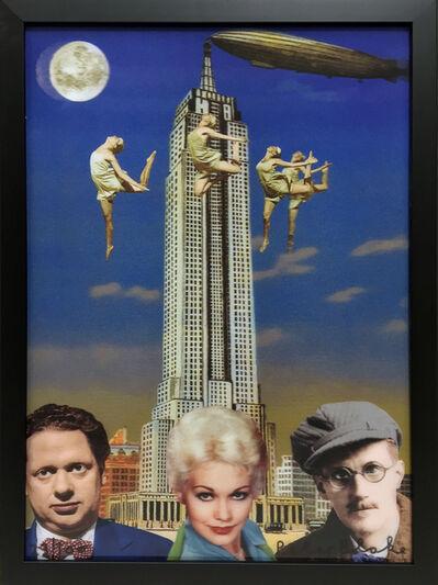 Peter Blake, 'Dylan Thomas, Kim Novak and James Joyce in New York', 2013