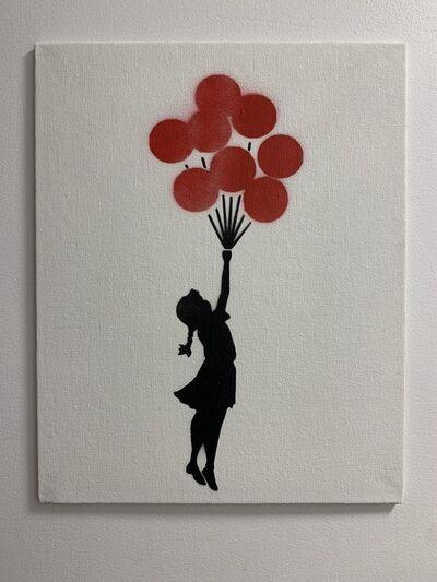 "Banksy, 'BANKSY DISMALAND "" GIRL WITH BALLOONS"" ', 2015"