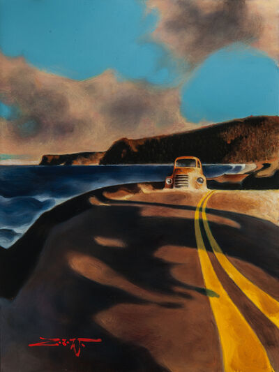 Z.Z. Wei, 'Golden Hour on Hwy. 101', 2019