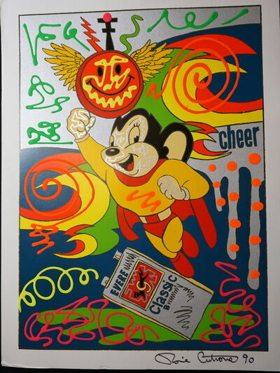 Ronnie Cutrone, 'Mighty Mouse', 1990