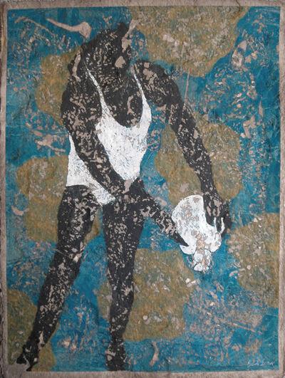 "Pierre-Marie Brisson, 'carborundum print on handmade paper ""Pierrette""', 2004"