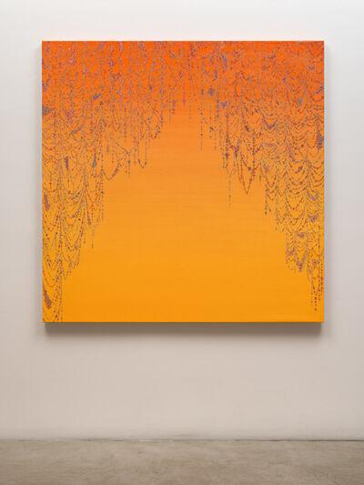 Kelsey Brookes, 'Veil (Orange to Yellow)', 2019