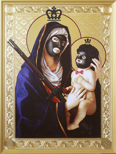 Mark Doox, 'Our Lady And Child of Minstrelsy And Second Amendment Solutions', 2019