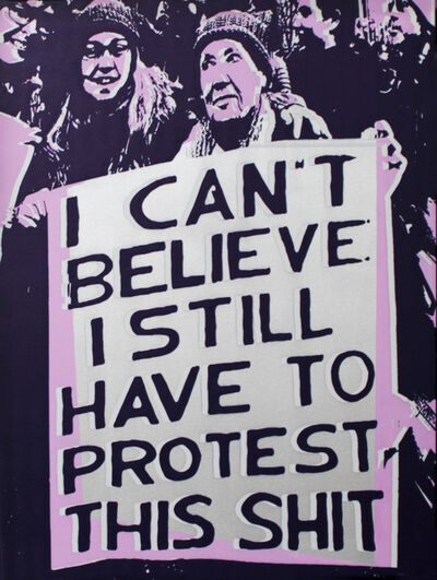 Rubem Robierb, 'Protest I', 2016