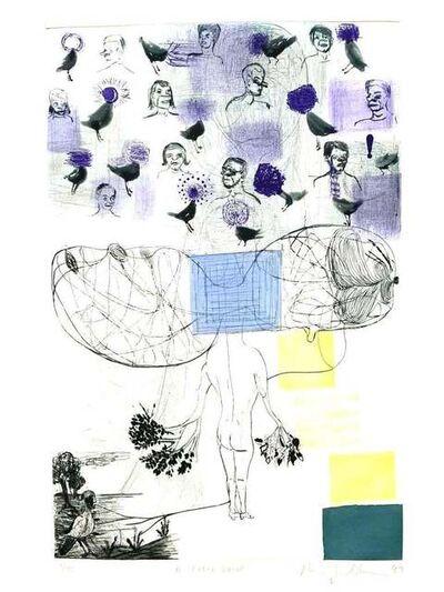 Amy Sillman, 'A Field Guild', 1994