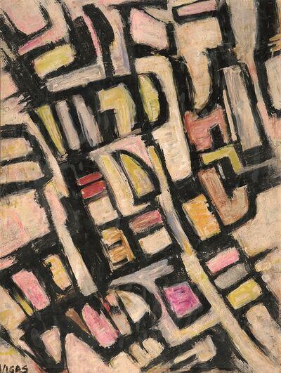 Oswaldo Vigas, 'Formas IV', 1955