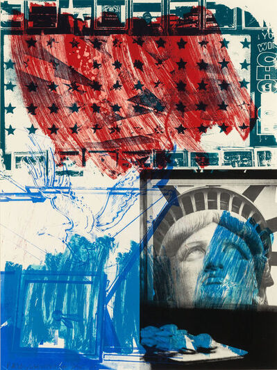 Robert Rauschenberg, 'People for the American Way', 1991