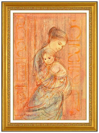 Edna Hibel, 'Mother's Embrace Original', 20th Century