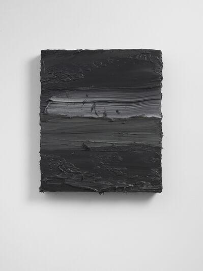 Jason Martin, 'Untitled (French Cassel Earth/ Scheveningen Black)', 2018