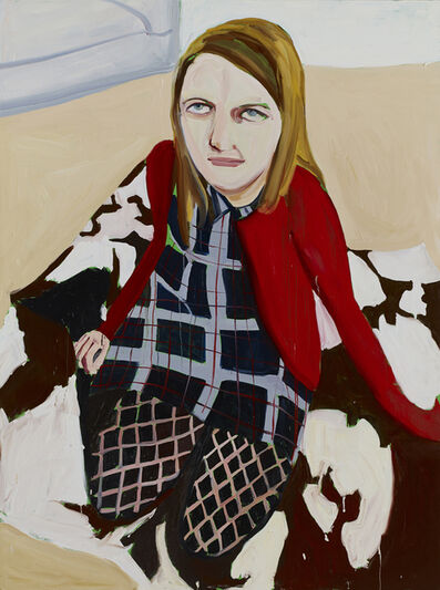 Chantal Joffe, 'Bumptious Mansions', 2014