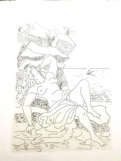 "André Derain, 'Original Etching ""Héroïdes by Ovide III"" by André Derain', 1938"