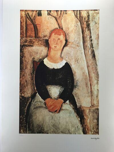 Amedeo Modigliani, 'La belle épicière (1918)', ca 1985