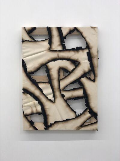 Ariel Schlesinger, 'Untitled (Burnt canvas)', 2018