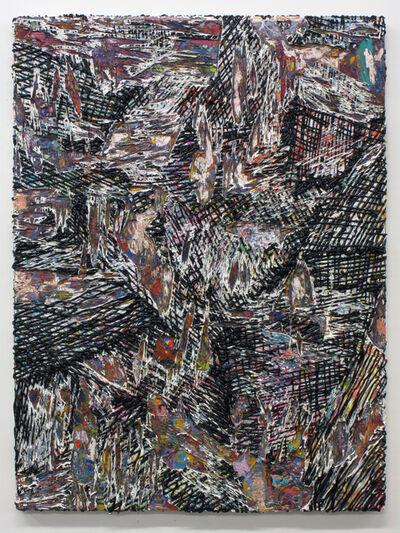 Jacin Giordano, 'Cutpainting 52', 2014