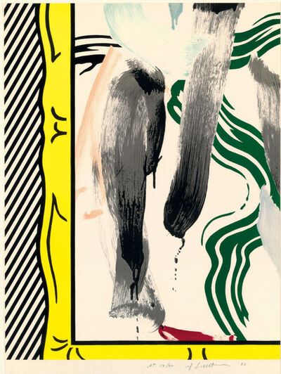Roy Lichtenstein, 'Against Apartheid (C. 200)', 1983