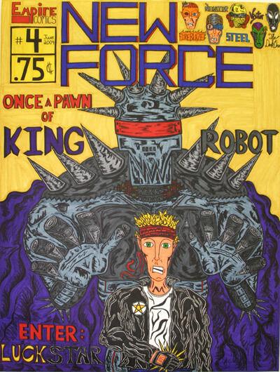 Michael Scoggins, 'New Force #4', 2004