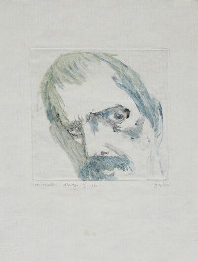 Leonard Baskin, 'Lovis Corinth', 1982
