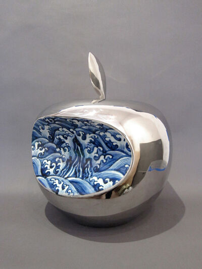 Li Lihong, 'Apple - China (Silver)', 2008