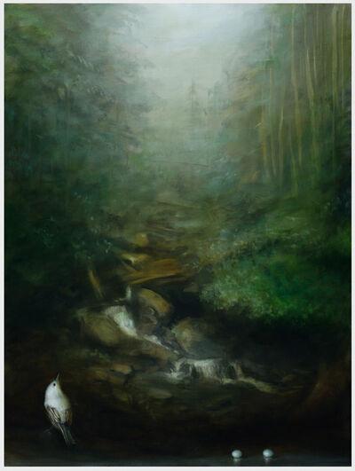 David Kroll, 'Woodland Landscape (Two Eggs)', 2019