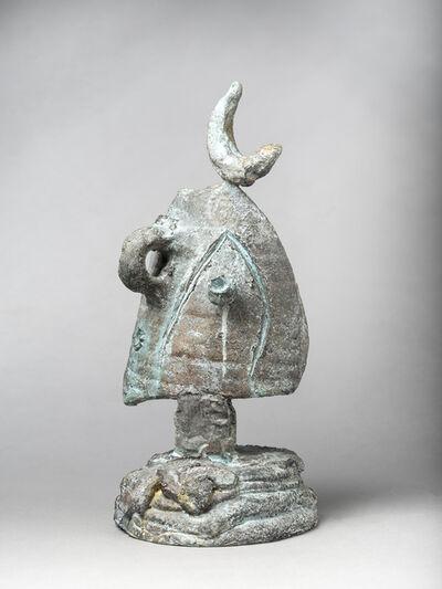 Joan Miró, 'Tête au croissant', 1977