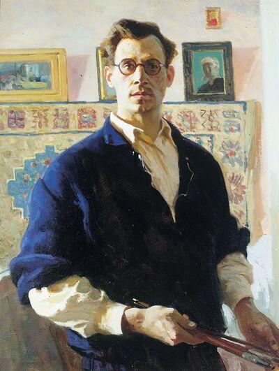 Vladimir Semenovich Zakharkin, 'Self portrait', 1947
