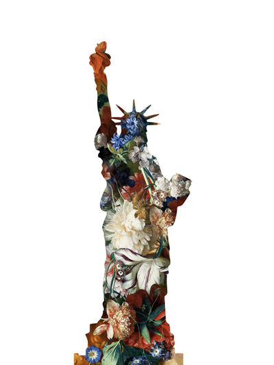 Agent X, 'La statue de la Liberte (White)', 2019