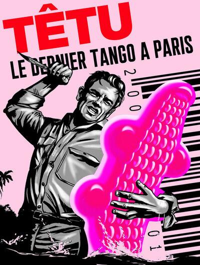 PHILIPPE GRIMAUD, 'LE DERNIER TANGO A PARIS (PINK EDITION)', 2019