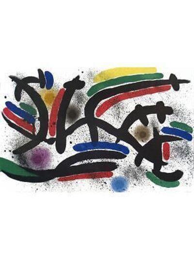 Joan Miró, 'Lithograph I, Number IX', 1972