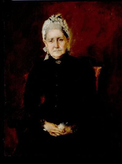 William Merritt Chase, 'The Artist's Mother, Sarah Swaim Chase', 1892