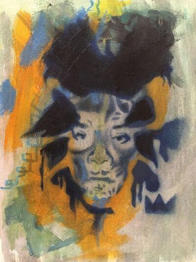 Damian Gonzales, 'Basquiat Skull', 2015