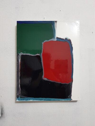 Tomek Baran, 'White, Black, Green, Red ', 2020