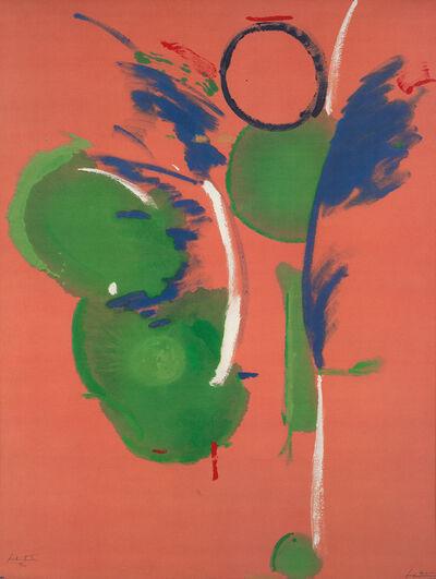 Helen Frankenthaler, 'Mary, Mary', 1987