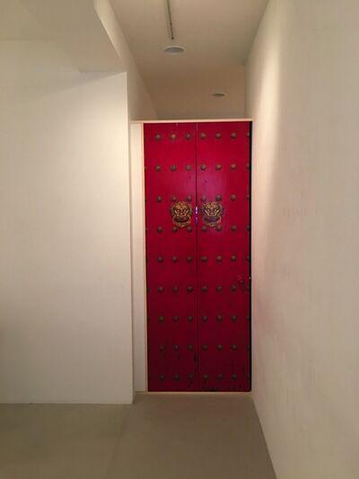 Zhang Hongtu, 'The Red Door', 1995