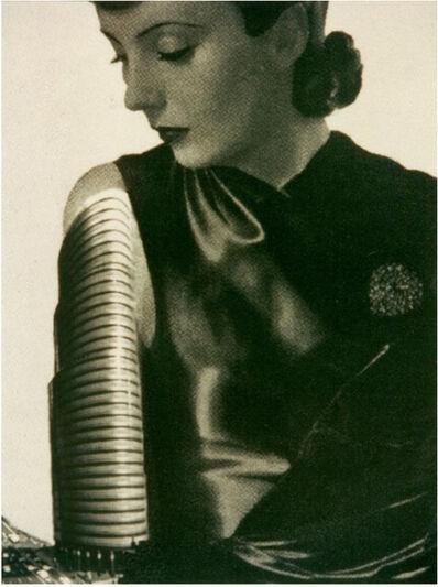 VALIE EXPORT, 'Frau mit Hochhausarm (Woman with Skyscraper Arm)', 1989