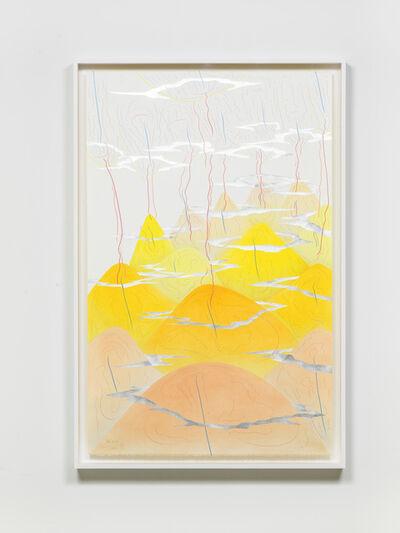 Jorinde Voigt, 'Yellow Hills V', 2017