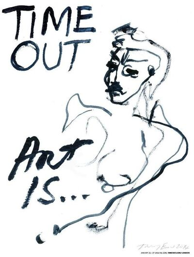 Tracey Emin, 'TIME OUT LONDON MAGAZINE', 2014
