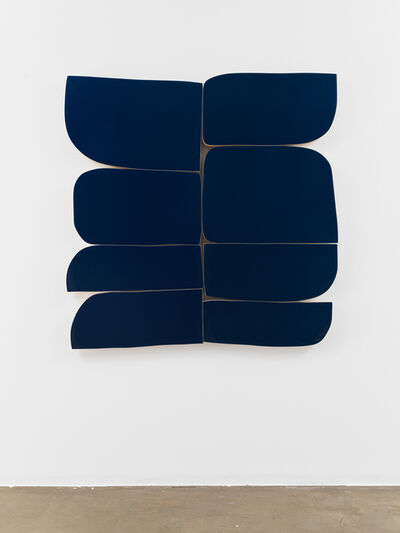 Andrew Zimmerman, 'Silk Blue', 2019