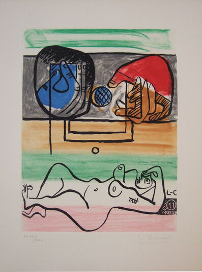"""Le Corbusier, '#11b from the series """"Unité""""', 1965"""