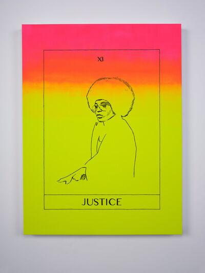 Mieke Marple, 'Justice Tarot (Angela Y. Davis)', 2020