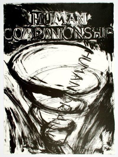 Bruce Nauman, 'Human Companionship-Human Drain', 1981