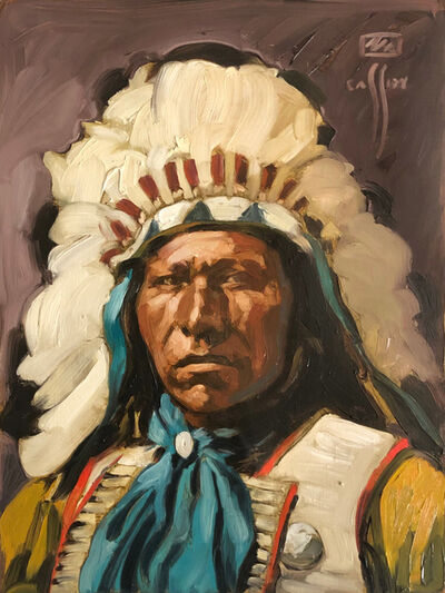 Michael Cassidy, 'Sioux in Warbonnet', 2020