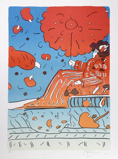 Peter Max, 'Umbrella Lady 15', circa 1979